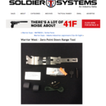 The DRT Down Range Tool Featured on Soldier Systems