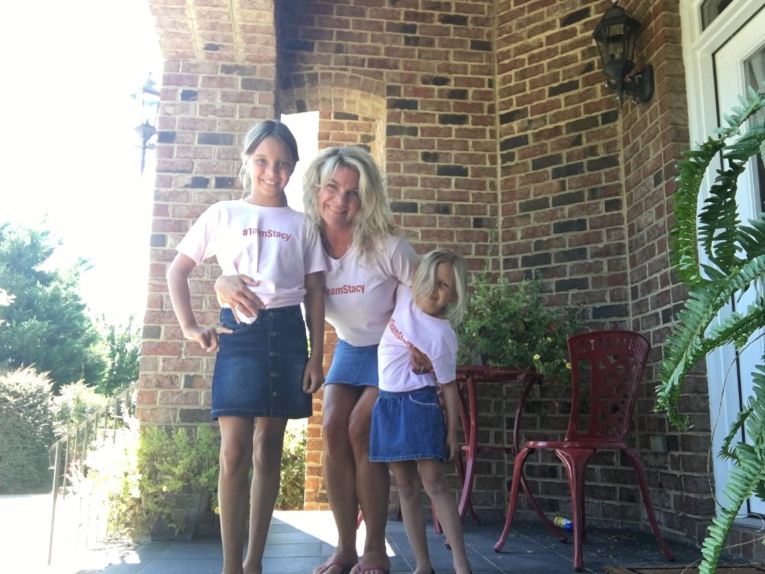 Stacy and daughters